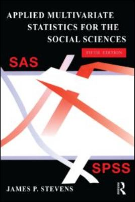 Applied multivariate statistics for the social sciences-9780805859034-5-Stevens, James Stacy-Lawrence Erlbaum Associates, Incorporated