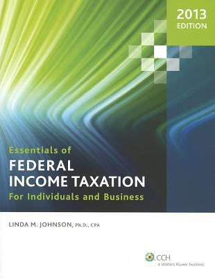 Essen of Federal Income Taxation (2013 Ed)-9780808031703--Linda M. Johnson-COMMERCE CLEARING HOUSE